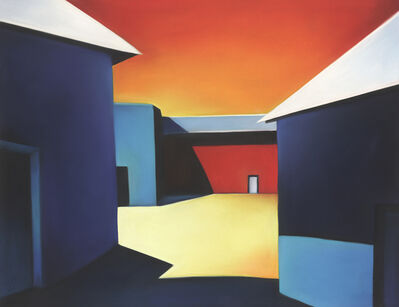 Margaret nes, 'Sunlit Alley of Color 19-13', 2019