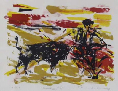 Elaine de Kooning, 'Sunday Afternoon', 1960