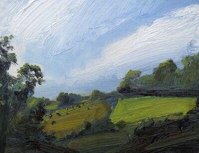 Robert Newton, 'Bright Green Field', 2018