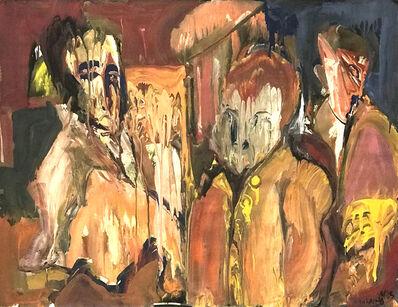 Ted Diamond, 'Untitled (Three Figures Melting)'