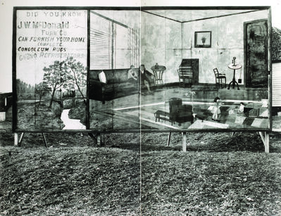 Walker Evans, 'Furniture Sign, Near Birmingham, Alabama', 1936