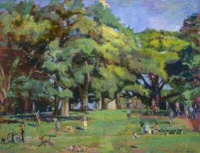 Grant Drumheller, 'Dog Park in Brooklyn'