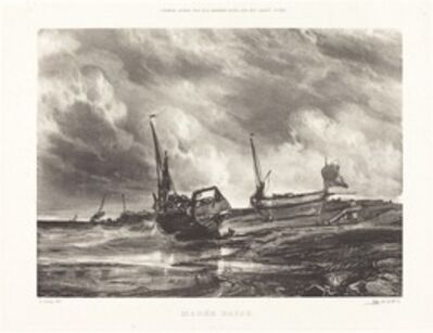Eugène Isabey, 'Marée Basse (Low Tide)', 1831