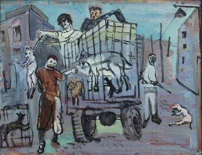 Jemal Kukhalashvili, 'Dog Hunters', 1981