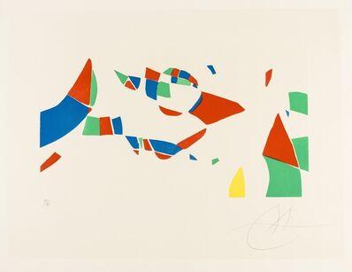 Joan Miró, 'Gravures Pour une Exposition (Pl. 4) (Dupin 609)', 1973