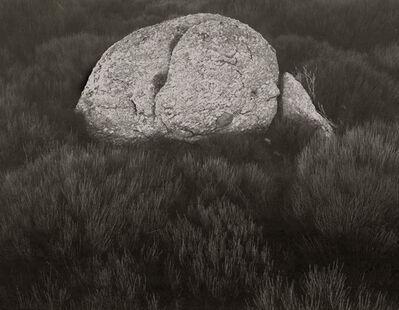 Koichiro Kurita, 'Rock on Gonet, Lozere, France', 1996
