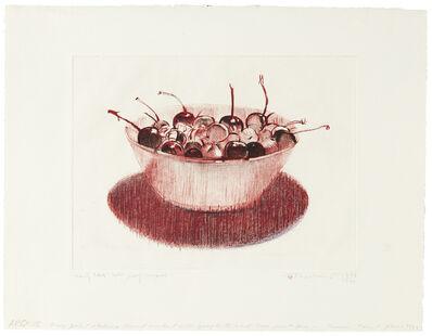 Wayne Thiebaud, 'Cherries', 1983-1995