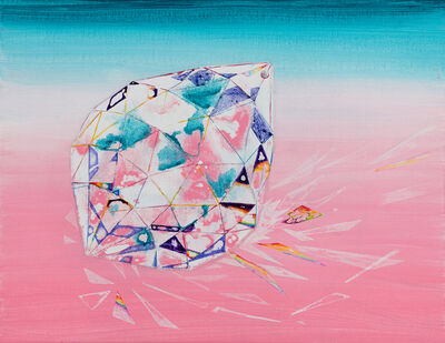 Wang Liang-Yin, 'Quartz Glass and Rainbow', 2018
