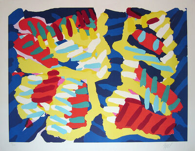 Karel Appel, 'Series of 10-About a Couple', 1978