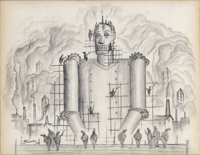 Henry Simon, 'Untitled (Industrial Frankenstein I)', 1932