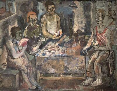 Jemal Kukhalashvili, 'Fisherman's Family', 1987