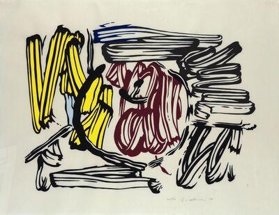 Roy Lichtenstein, 'Red and Yellow Apple', 1983