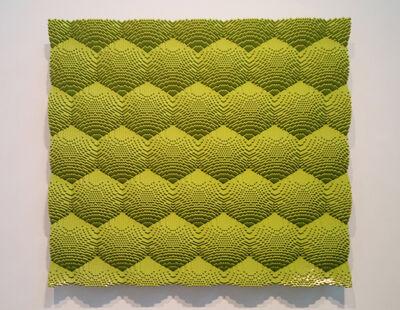 Matt Donovan, 'Green Honeycomb', 2014