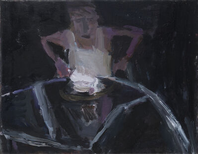 Janice Nowinski, 'Man at a Table', 2016