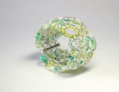 Kait Rhoads, 'Variegated Green '