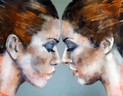 Thomas Donaldson, '11/22/18 Double Head Study', 2018