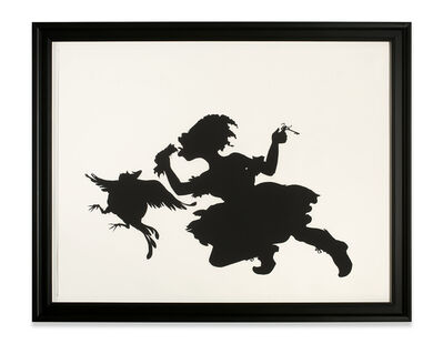 Kara Walker, 'The Keys to the Coop', 1997