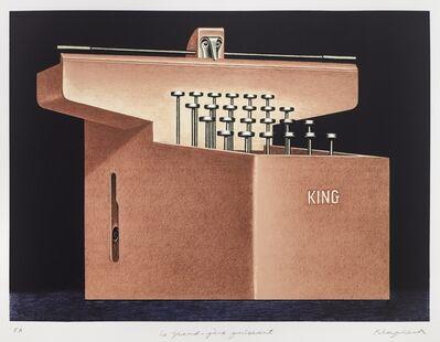 Konrad Klapheck, 'Le grand-père puissant', 1998