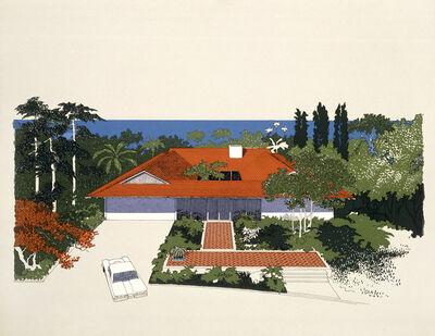 Carlos Diniz, 'Monarch Bay Homes, Hip Roof Model', 1961