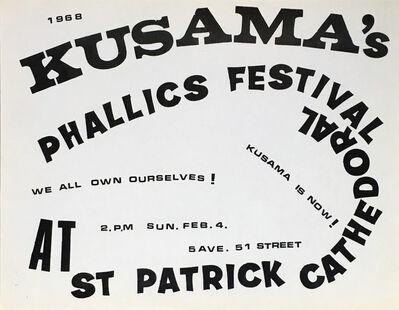 Yayoi Kusama, 'Kusama Phallics Festival (60s Kusama)', 1968