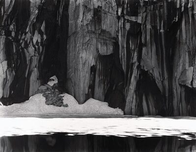 Ansel Adams, 'Frozen Lake and Cliffs, Kaweah Gap, Sequoia National Park, CA', 1932