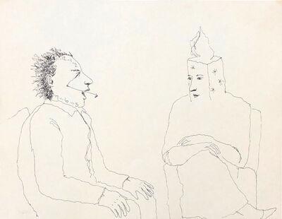 Mindy Alper, 'Untitled (Shoshana & clockface)', n.d.