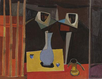 Faiq Hassan, 'Bedouin Tent', 1950