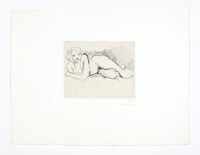 Henri Matisse, 'Nu couché', 1929