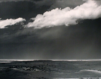 Ansel Adams, 'Thunderstorm, Great Plains', 1961
