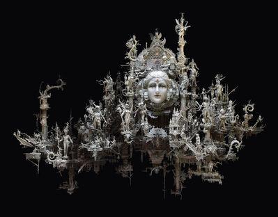 Kris Kuksi, 'Ethereal Fortress', 2018