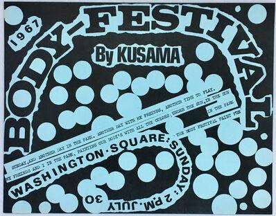 Yayoi Kusama, 'Kusama Body Festival (60s Kusama illustrated announcement) ', 1967