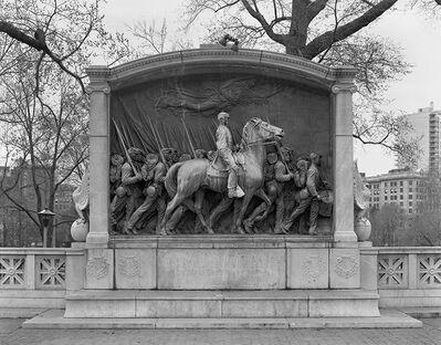 Richard Benson, 'Shaw Monument', 1972