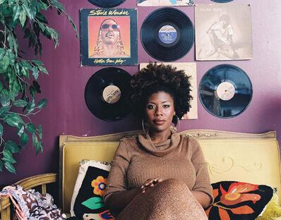 Mickalene Thomas, 'Afro Goddess Ex Lover's Friend', 2006