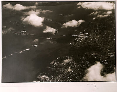 Margaret Bourke-White, 'Aerial view of Palm Island ', ca. 1930
