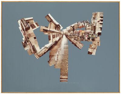 David Hockney, 'Canal and Road, Kyoto, February 19', 1983