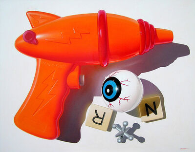 Jim Bandsuh, 'Orange Squirtgun', 2017
