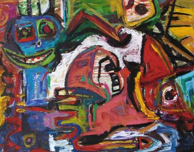 Parmis Sayous, 'The joker and the others ', 2010