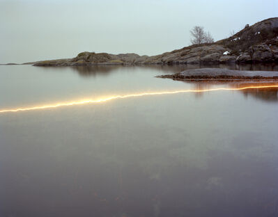 Ole Brodersen, 'Plexiglass, wood, sparkler and string #05', 2013