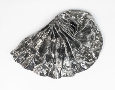 Lynda Benglis, 'Silver Luster Fan', 1981