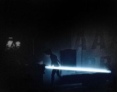 """Silvia Lelli, 'Neon collection / Neon installation, I.C, V.D.P.S., I.I.E./E.I.I./S 33-38, Il Carrozzone, """"Vedute di Porto Said, Interni in esterno/esterni in interno/studi 33- 38"""" Milano, Sala Azzurra, 1979', 1979"""