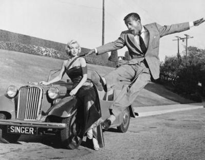 Frank Worth, 'Sammy Davis Jr leaps for Marilyn'