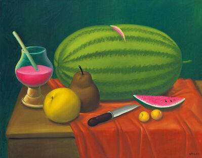 Fernando Botero, 'Still Life With Fruits', 2003
