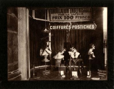 Eugène Atget, 'Coiffure Palais Royale ', 1926