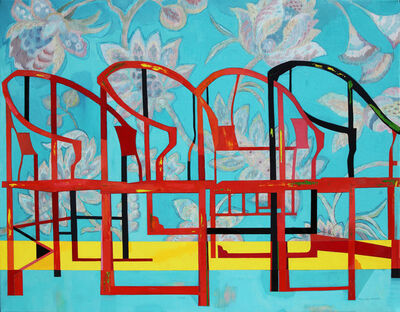 Huang Duo Ling 黄多玲, 'Chairs and Tapestry ', 2017