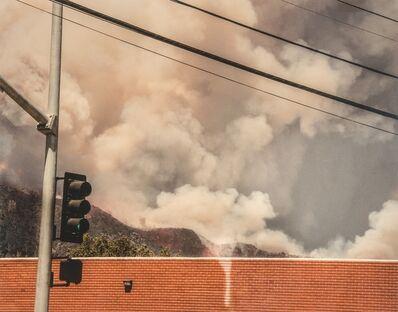 Robert Welkie, 'Duarte, California, Fire with Building', 2016