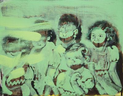 Bartosz Beda, 'Children of The Megaphone, oil on canvas, 42x58cm, 2018 (300dpi)', 2018