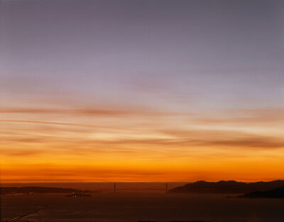 Richard Misrach, 'Golden Gate Bridge, 12.14.99, 5:29PM', 1999