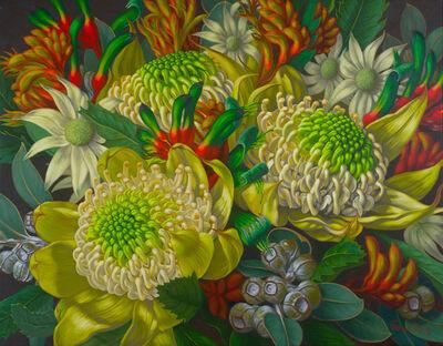 Fiona Craig, 'Waratahs, Flannel Flowers and Kangaroo Paws'
