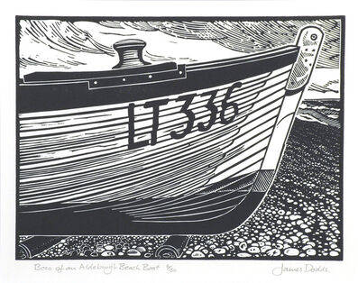 James Dodds, 'Bow of an Aldeburgh Beach Boat - edition of 150'