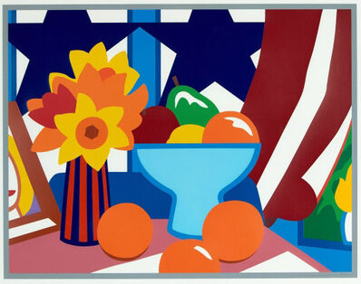 Tom Wesselmann, 'Still Life with Blowing Red Curtain', 1998